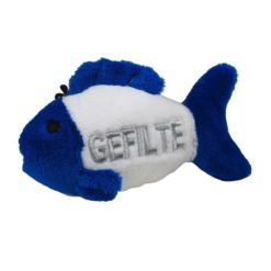 4.5 Talking Gefilte Fish Dog Toy